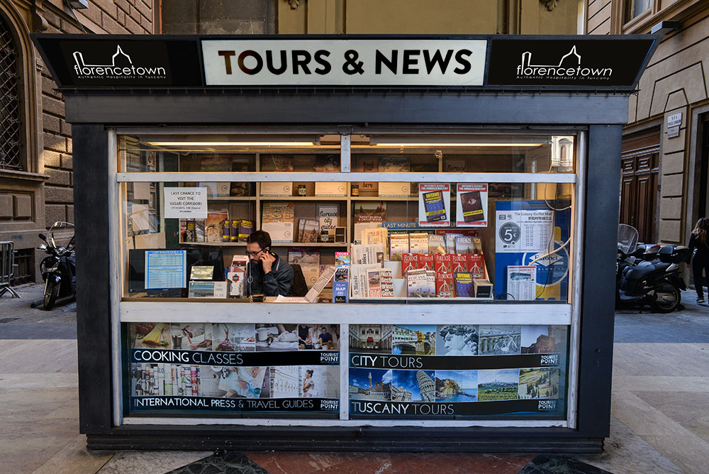 florencetown tours and news stand