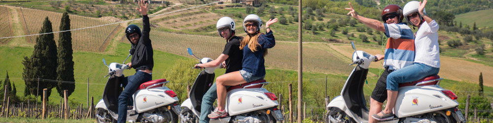 Vespa Tour | Tours in Tuscany | Tour in Florence