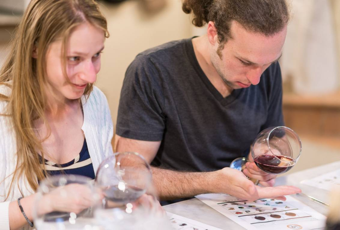 during our tuscan wine tour a sommelier will explain the sophisticated techniques of wine making and teach you to distinguish the different scents and flavors