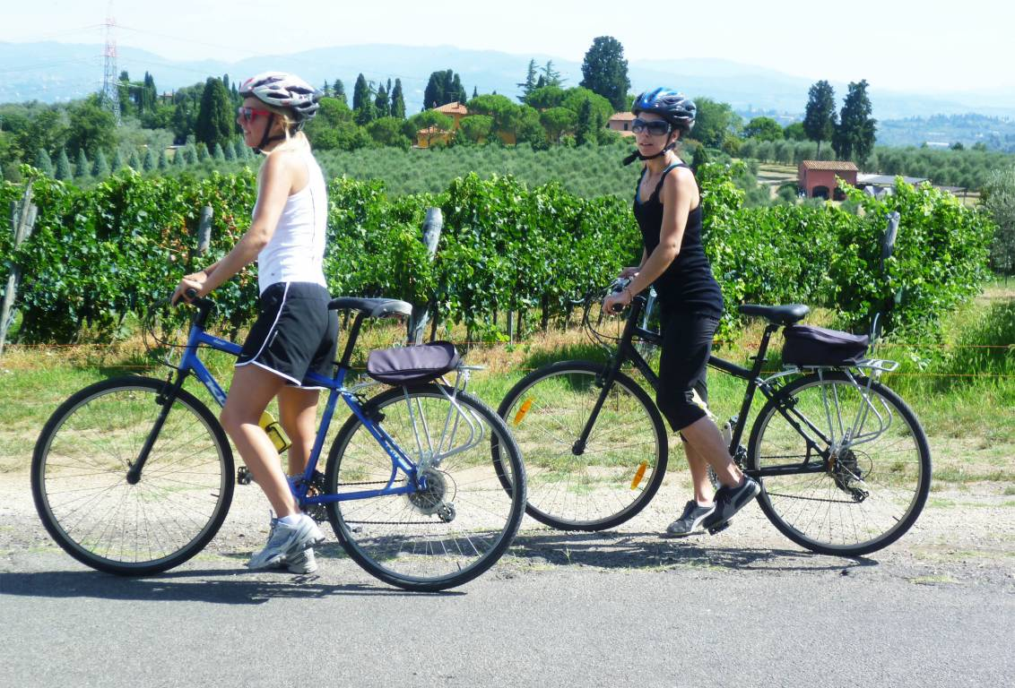 The first and original one-day WINE tour by BIKE in Tuscany