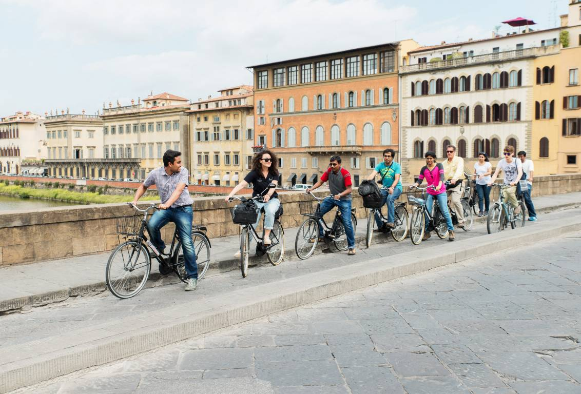 bike tours Florence: our professional guided ride will show you roads out of the usual tourist paths