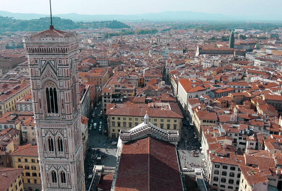 reach the top of Brunelleschi's Cupola: 91-metre-high panoramic viewpoint for a breathtaking view