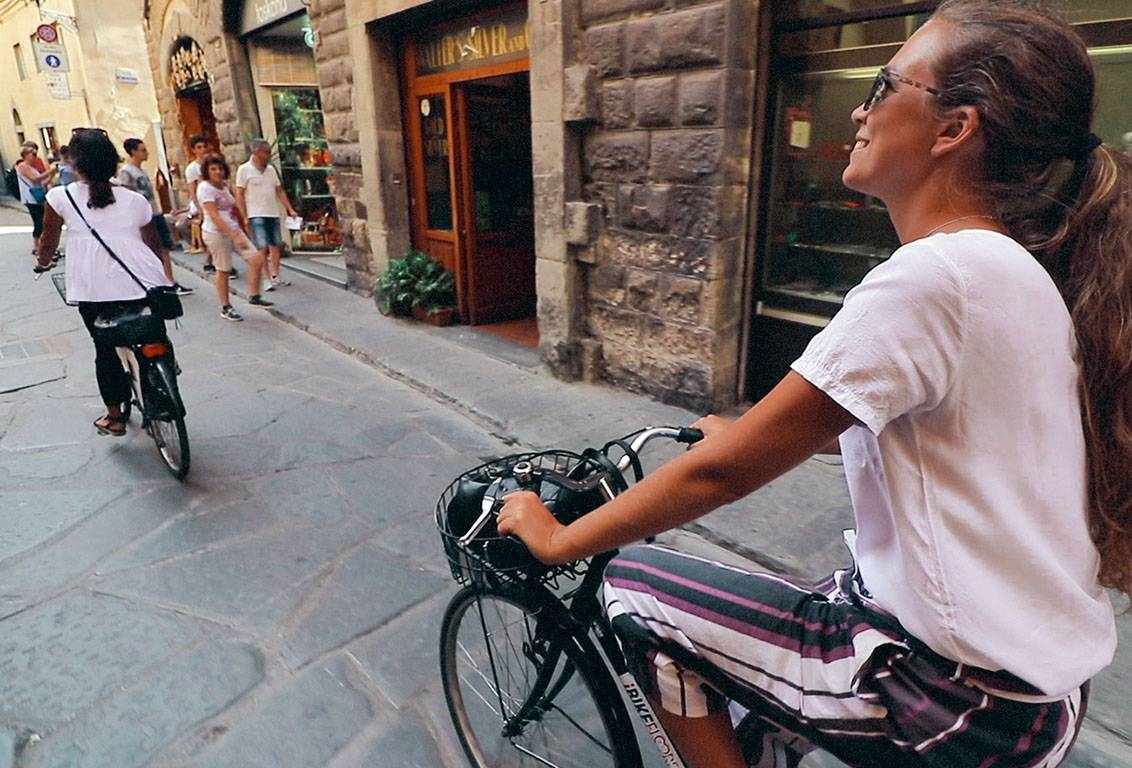 with our florence bike tour reach locations too far for walking tours and discover unknown spots from where to admire the city