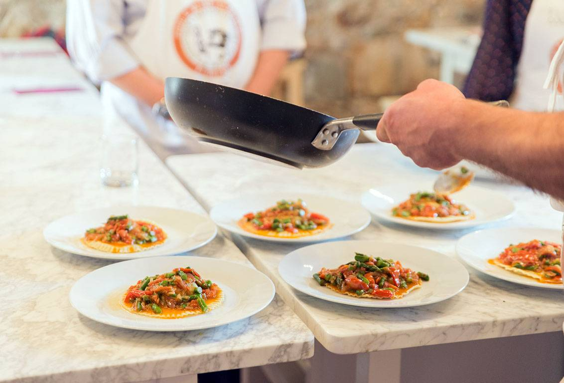 Savour your own italian lunch after the cooking masterclass in Florence