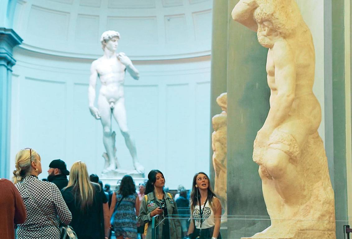 the david housed in accademia gallery symbolizes the defense of the civil liberties embodied in the Florentine Republic