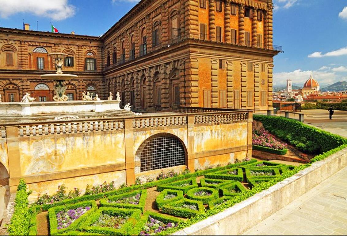 Private Tour Of Boboli Gardens And Pitti Palace