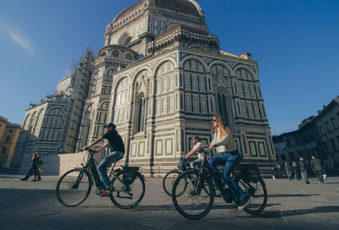 unique electric bike tour to discover Florence Italy