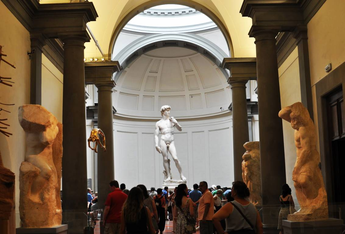 our small group Accademia gallery tour will let you visit the museum avoiding the crowd