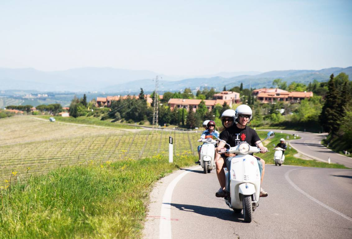 with our chianti countryside one day tour enjoy a 19 miles round trip along mostly paved country roads with little traffic