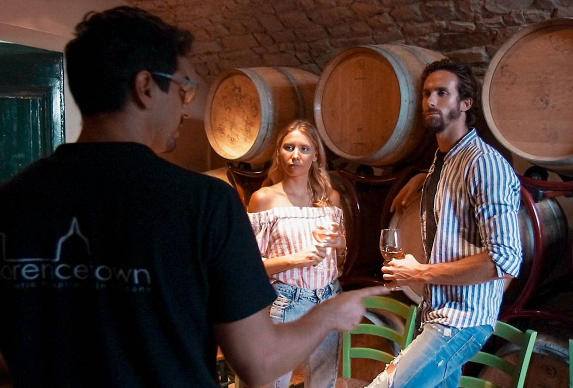 After a ride through the tuscan countryside you will learn the techniques of production, ageing, storing and bottling wine and olive oil