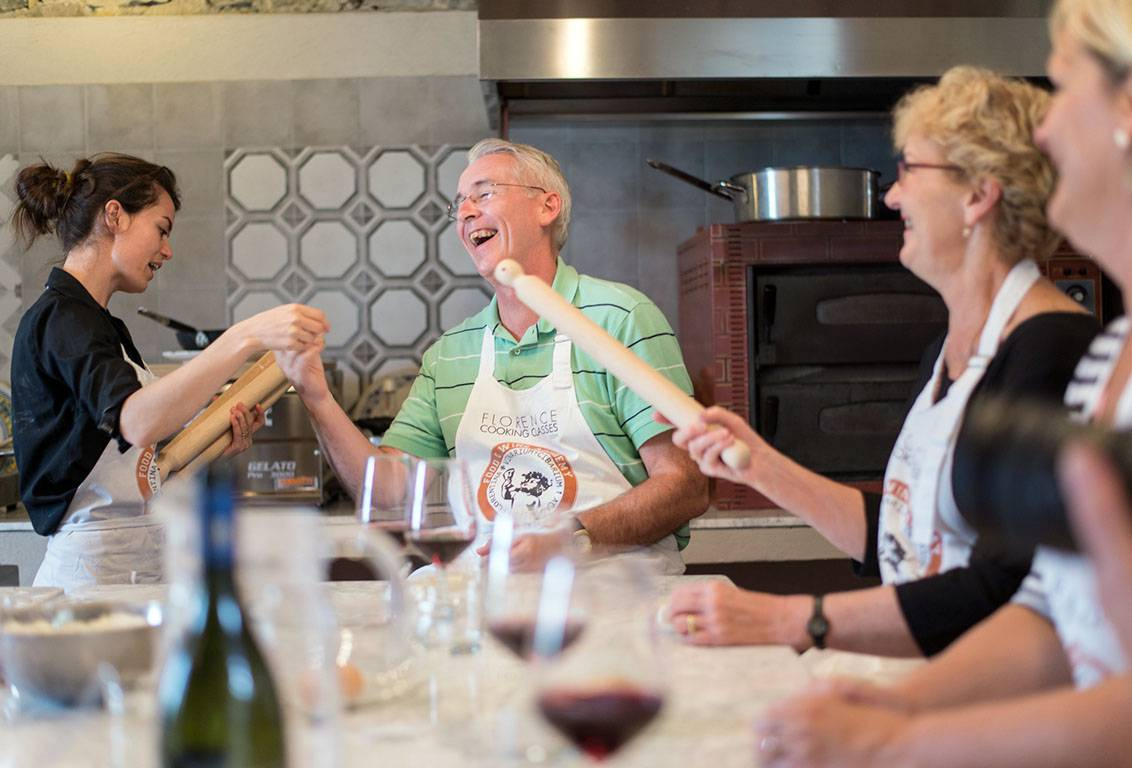 the small group cooking lesson will ensure a personalized experience from the Chef while letting you enjoy a friendly company