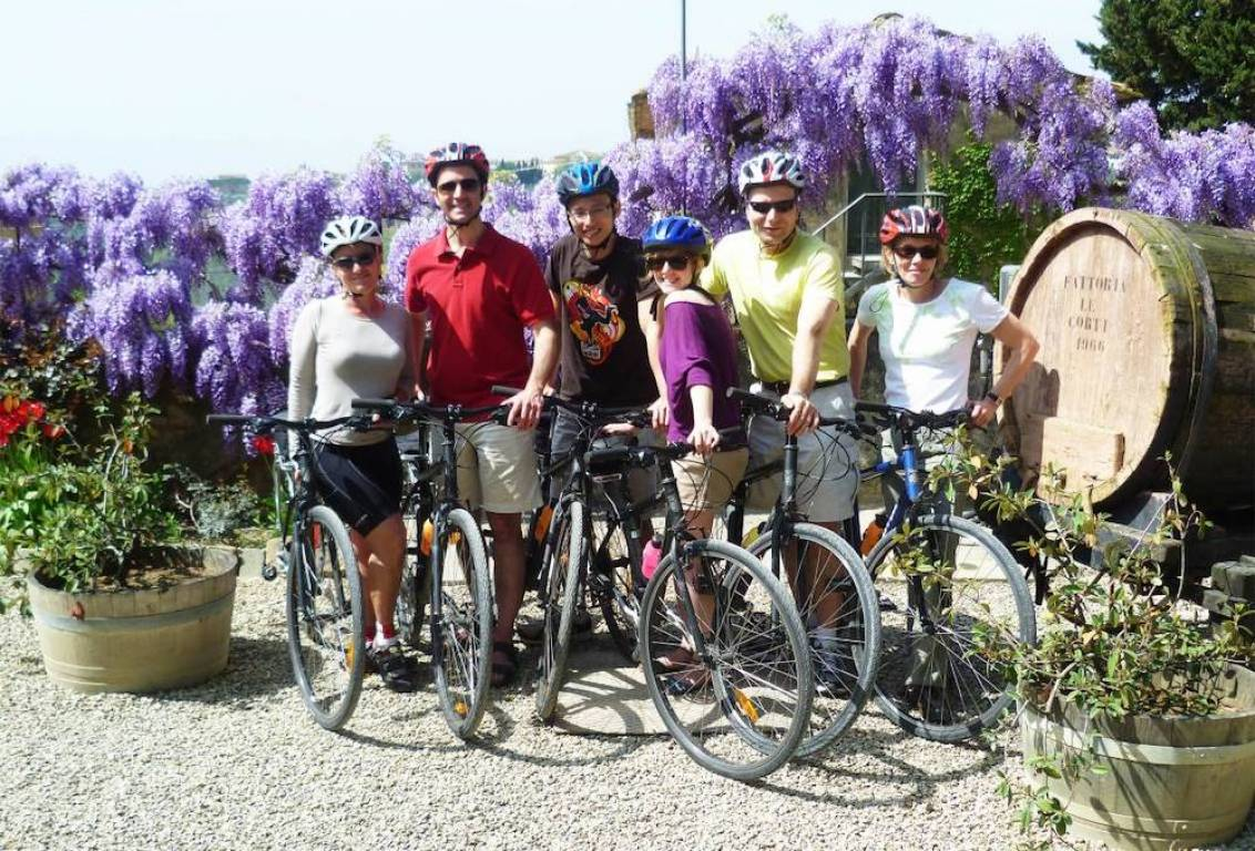 during your ride through the tuscan countryside, enjoy the breathtaking panoramic views and stops for photo opportunities
