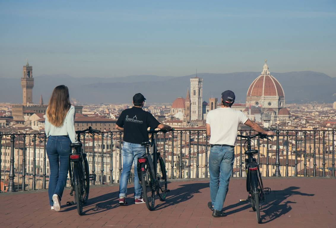 electric bike tour in Florence Italy