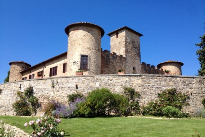 start your wine tour in tuscany enjoying the view of vineyards, noble castles and villas escorted in a minivan from florence