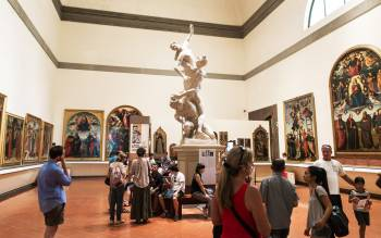 accademia gallery museum has unmissable works: book our early entrance tour and save time visiting florence
