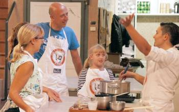 Pizza class is perfect for families that are visiting Florence and want to try a unique experience