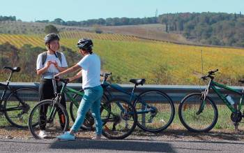 Our one day tuscany bike tours are suitable for anyone, either pros or wannabe bikers