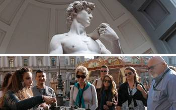 Discover Florence with our walking tour and  explore the Accademia Gallery: its renowned museum
