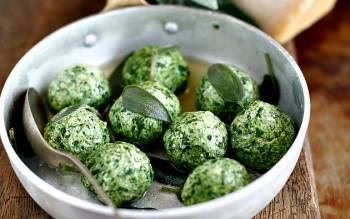 Our online cooking classes have multiple recipes to choose from: have you ever cooked gnudi?