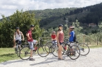 our one day bike tour of tuscany includes flat, downhill and uphill sections, to give you a complete variety of views and biking experiences