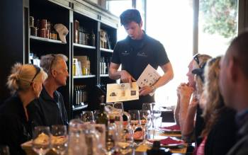 discover the world of supertuscan wine with an expert somelier and learn the winemaking skills of a wine producer