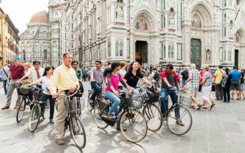 with our florence bike tours explore the city center off the beaten tourist path