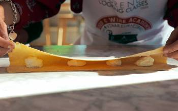 with our cooking course for small group you will finally learn how to make home-made pasta