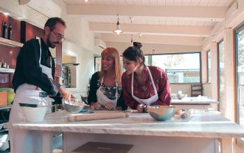 Tuscany cooking class: an intimate and friendly atmosphere