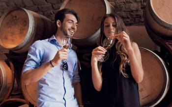 with our tuscany wine tours you will discover two wineries and their cellars