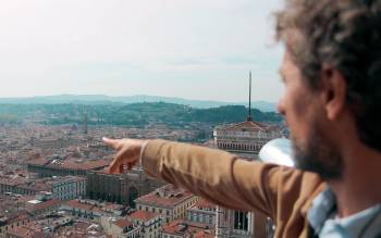 enjoy an incomparable view of the city from the Duomo Terraces, on the cathedral rooftop
