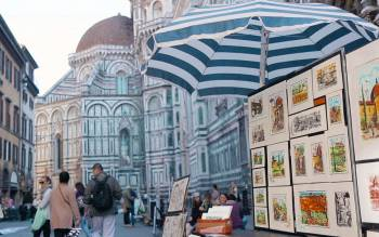 walk through the narrow streets of the city center and discover all the famous historical sites of florence