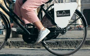 discover florence by bike with our original vintage bikes, comfortable and well maintained
