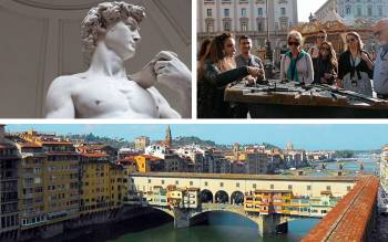 one of the best uffizi guided tours: admire the masterpieces of Italian art and learn the secrets about the Vasari Corridor