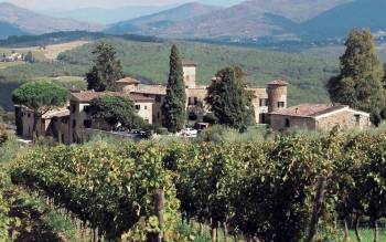 Tuscany wine tours: delicious tuscan meal with wine tasting