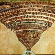 our medieval florence tour will focus on Botticelli's painting entitled Inferno and will include a description of the connection with the history of the Divine Comedy